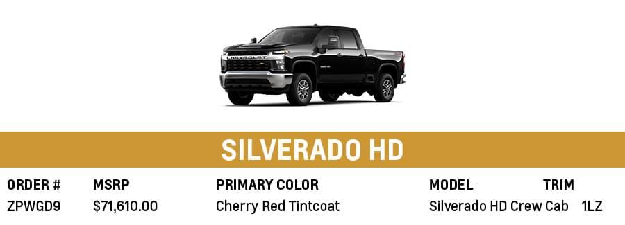 Chevrolet Silverado HD   Grand Prairie, TX