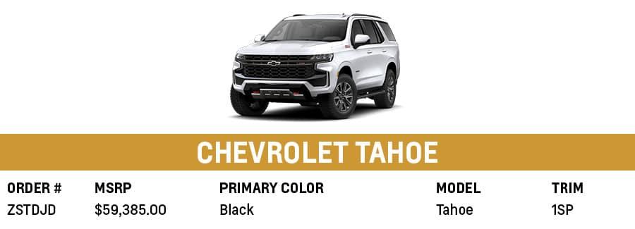 Chevrolet Tahoe   Grand Prairie, TX