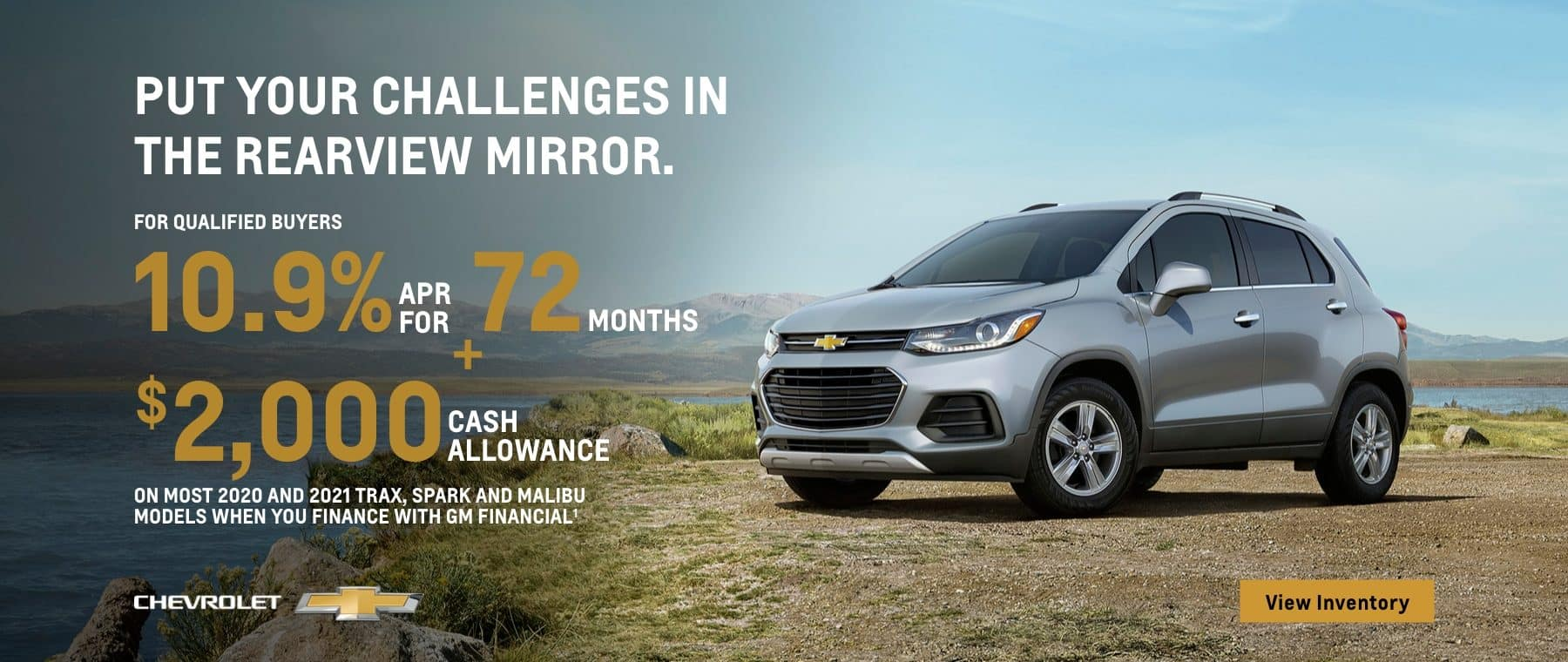 Put your challenges in the review mirror