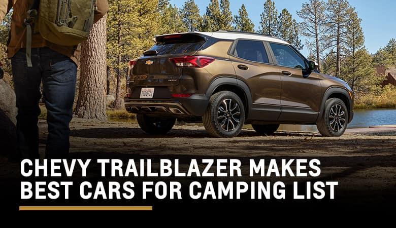 Chevy Trailblazer Praised in 'Best Cars for Camping' | Graff Chevrolet in Grand Prairie, TX