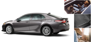 toyota camry accessories haley