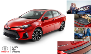 2018 toyota corolla haley accessories