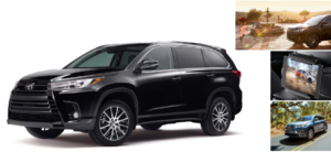 haley 2018 toyota highlander accessories