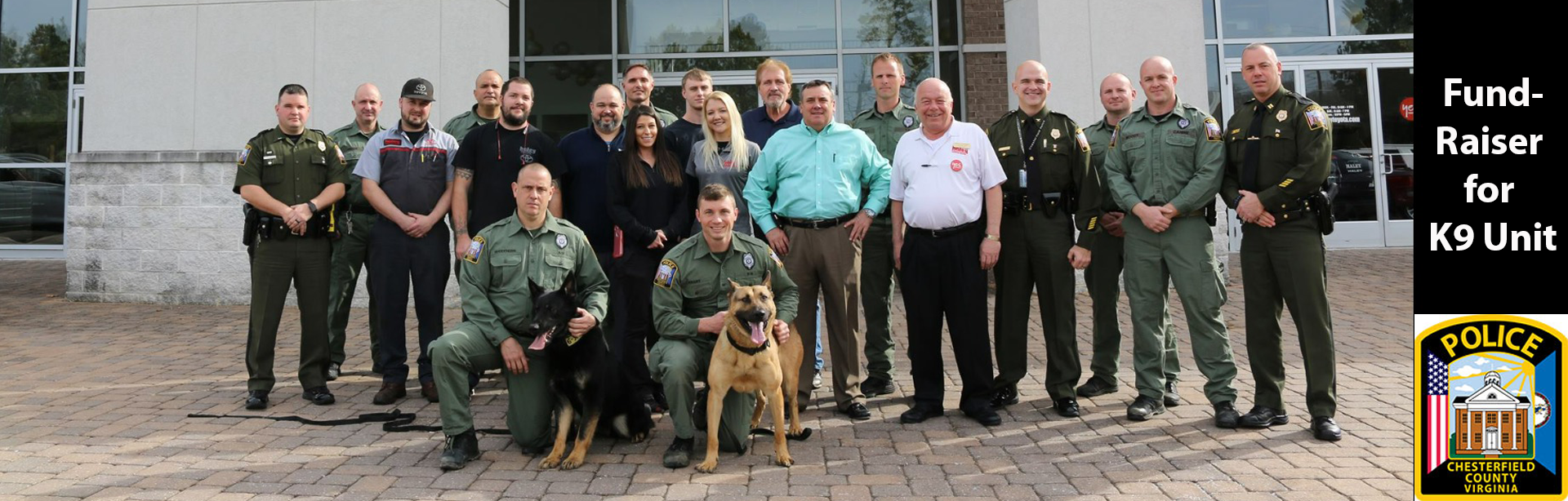 chesterfield county police k9, k9 unit, haley toyota