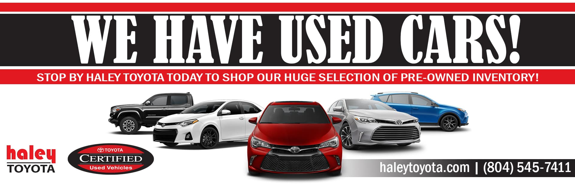 Haley Toyota of Richmond | New, Used, Certified Vehicles