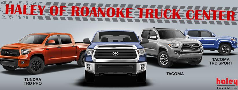 Haley Toyota Roanoke >> Trucks Inventory | Haley Toyota of Roanoke