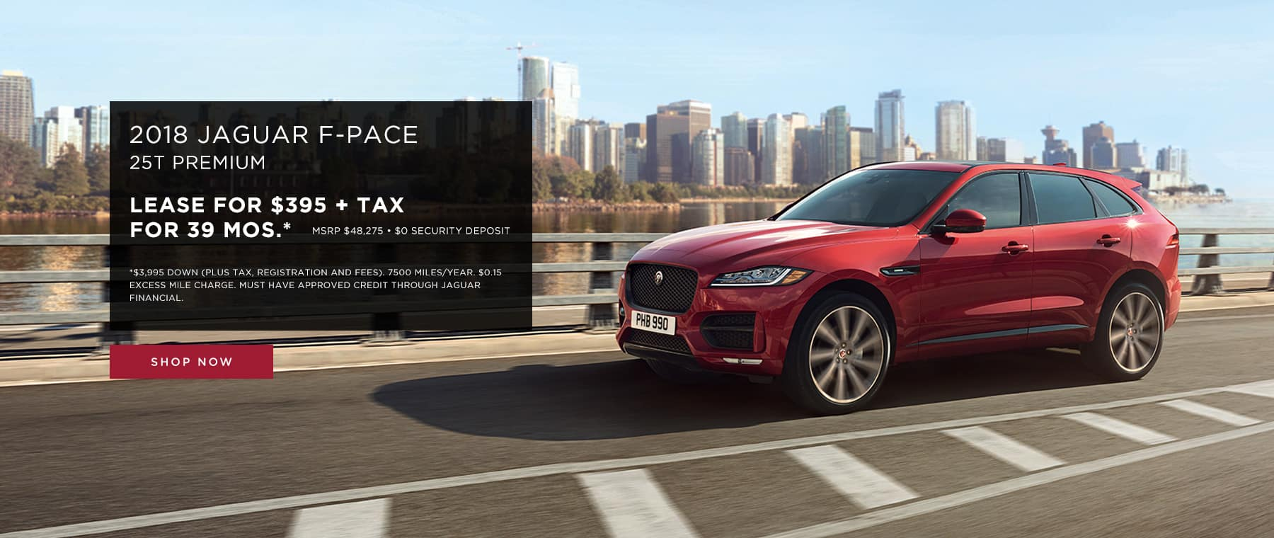 Jaguar F-Pace Lease Offer