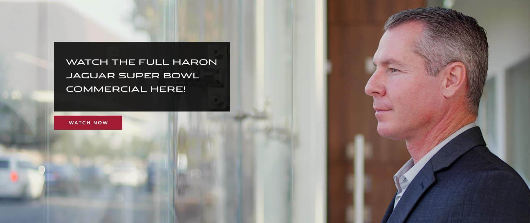Haron Jaguar Super Bowl Commercial