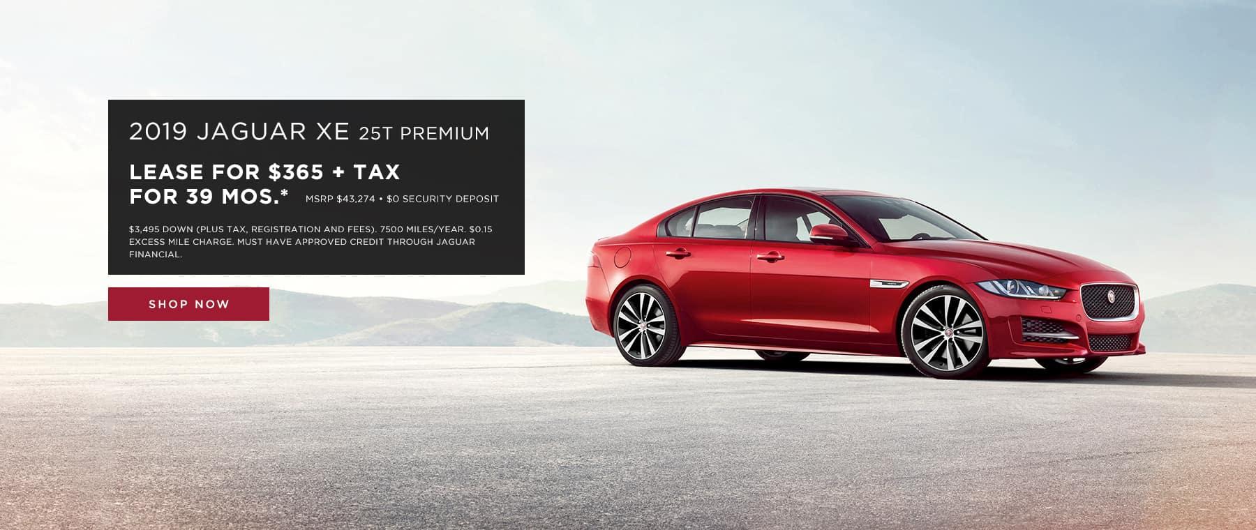 Jaguar XE Lease Offer