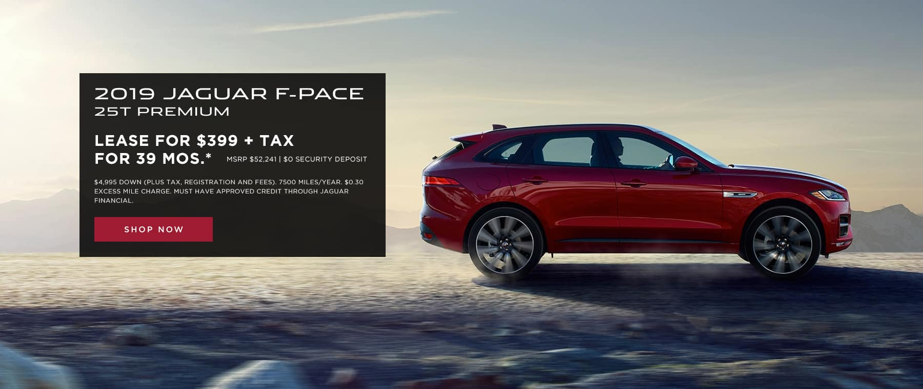 F-Pace Lease