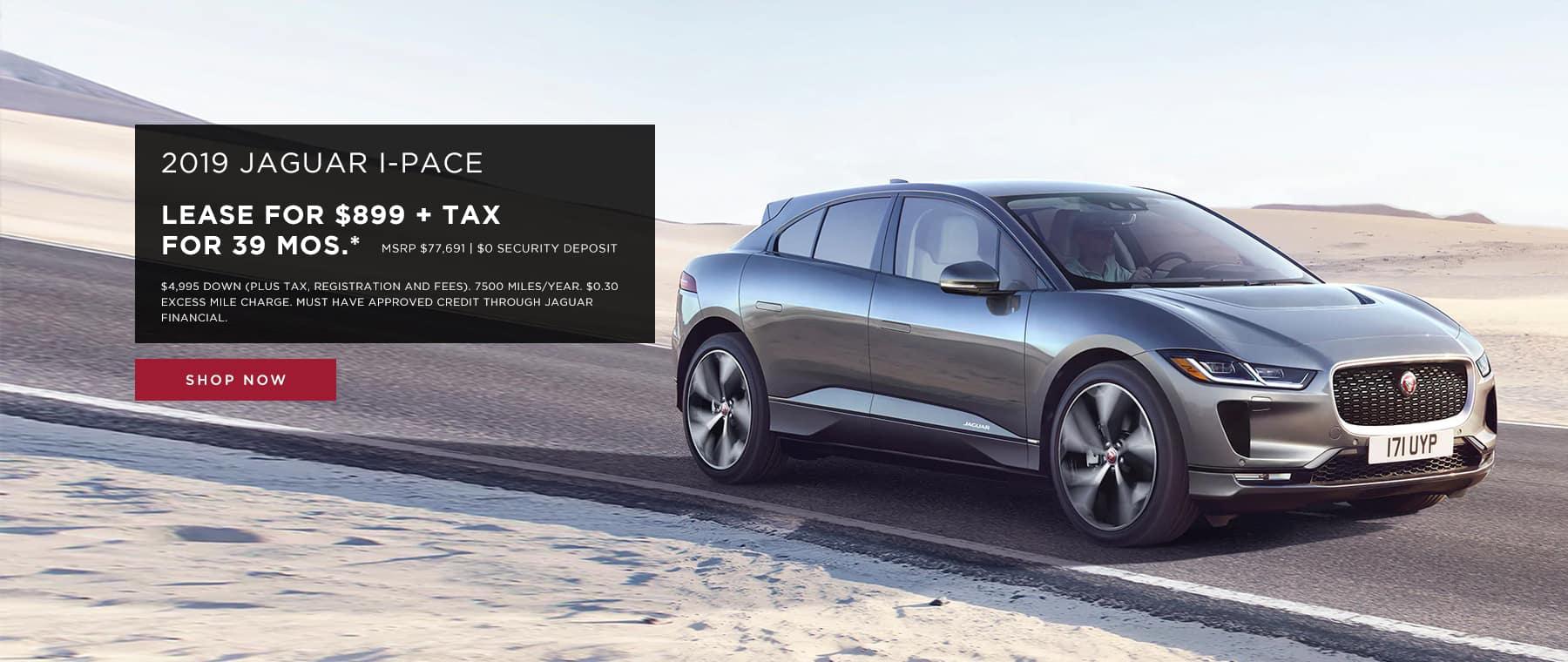 Jaguar I-PACE Lease Offer