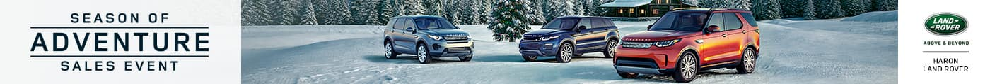Land Rover Winter Sales Event