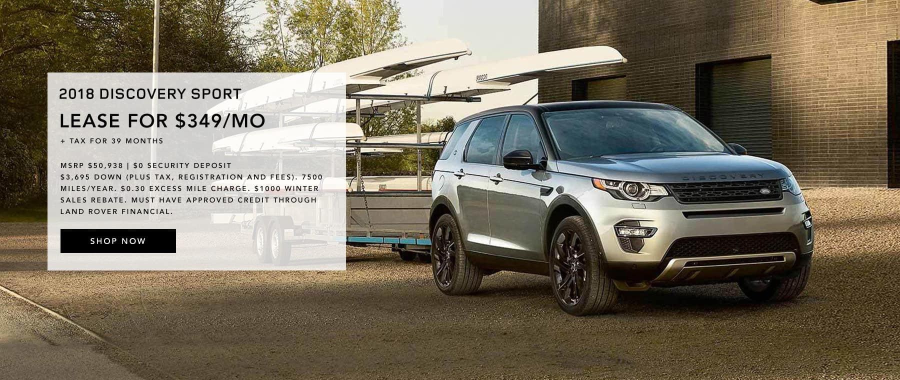 2018 Discovery Sport Lease Offer