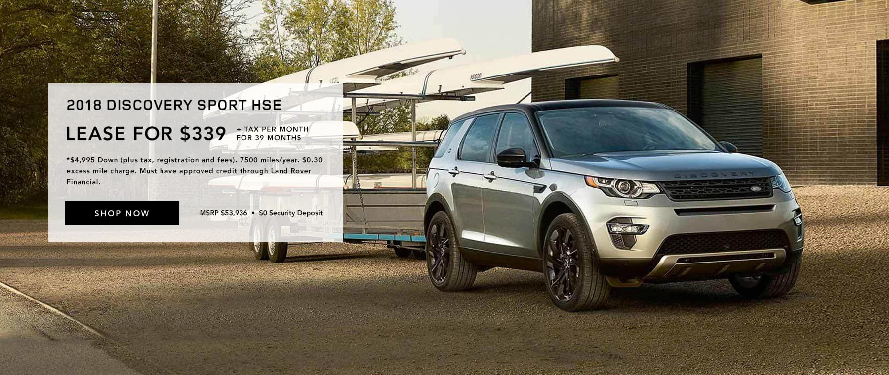 Discovery Sport Lease Offer