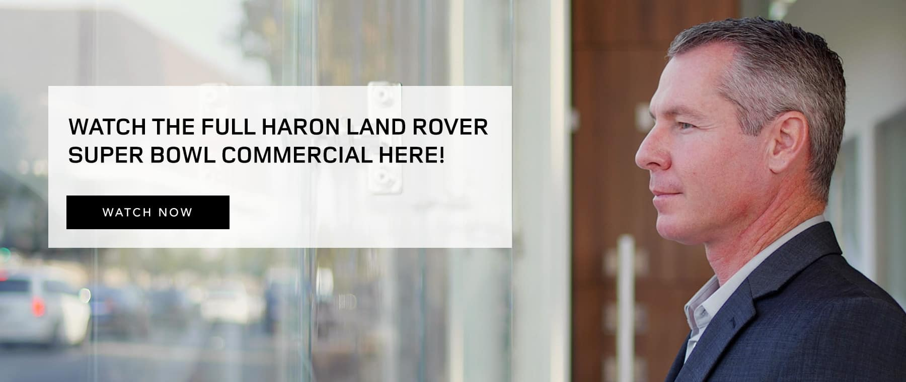 Haron Land Rover Super Bowl Commercial
