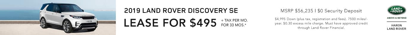 Discovery SE Lease Offer
