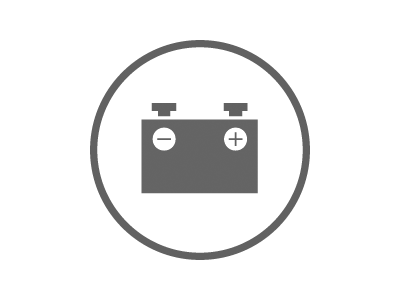 Battery Service Coupon Icon