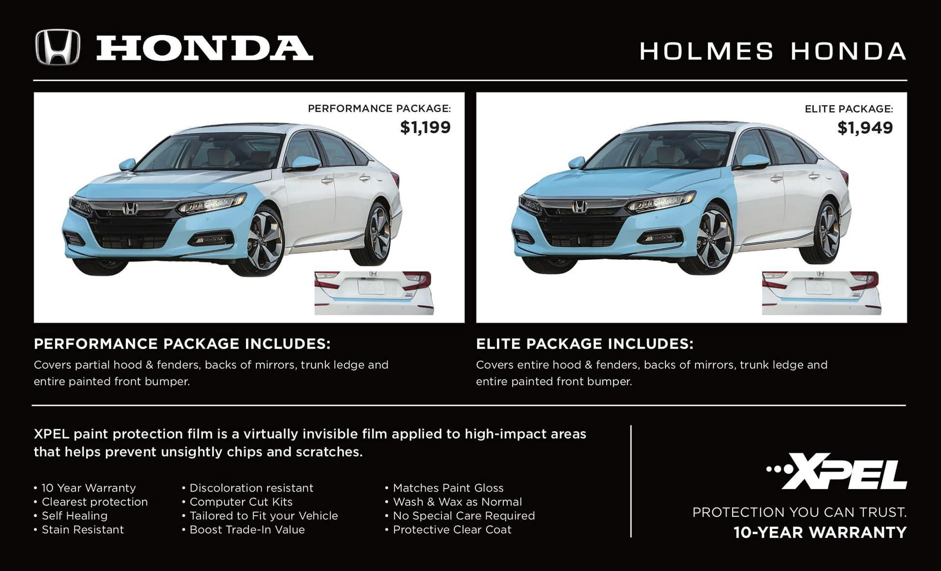 XPEL Paint Protection is Now at Holmes Honda! - Holmes Honda