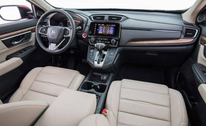 2017 Honda CR V Wins Top 10 Best Car Interiors Of 2017