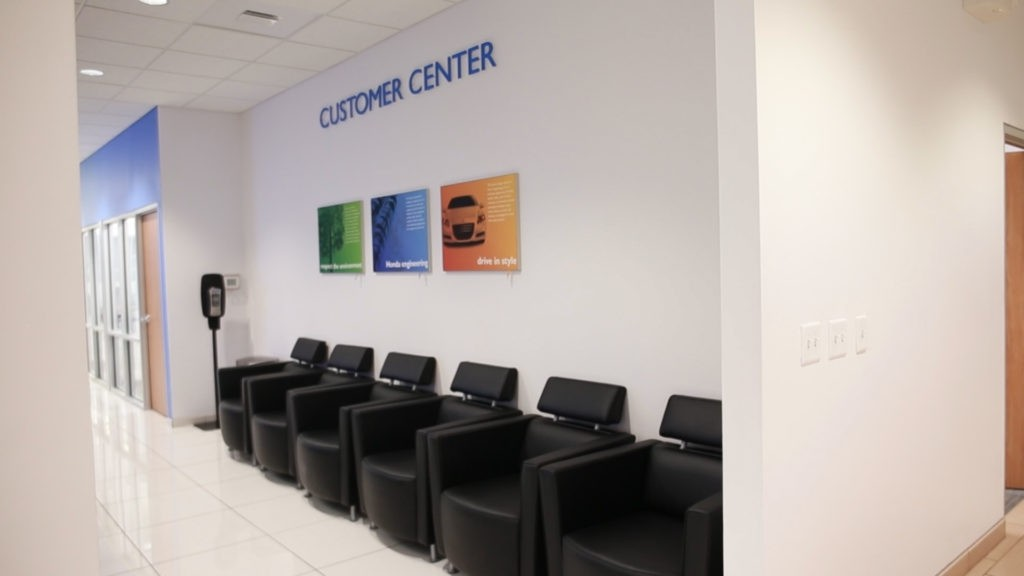 holmes honda, holmes honda shreveport, honda service, customer center, waiting area