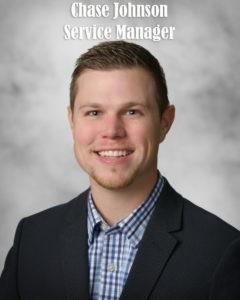 Chase Johnson, Service Director, Holmes Honda Shreveport