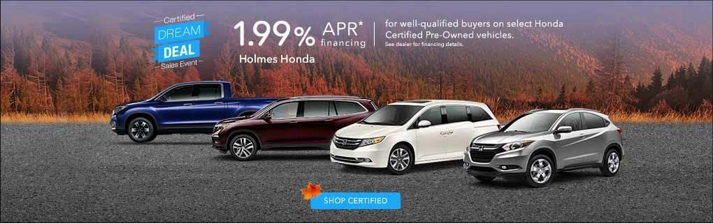 1.99% APR CPO Holmes Honda