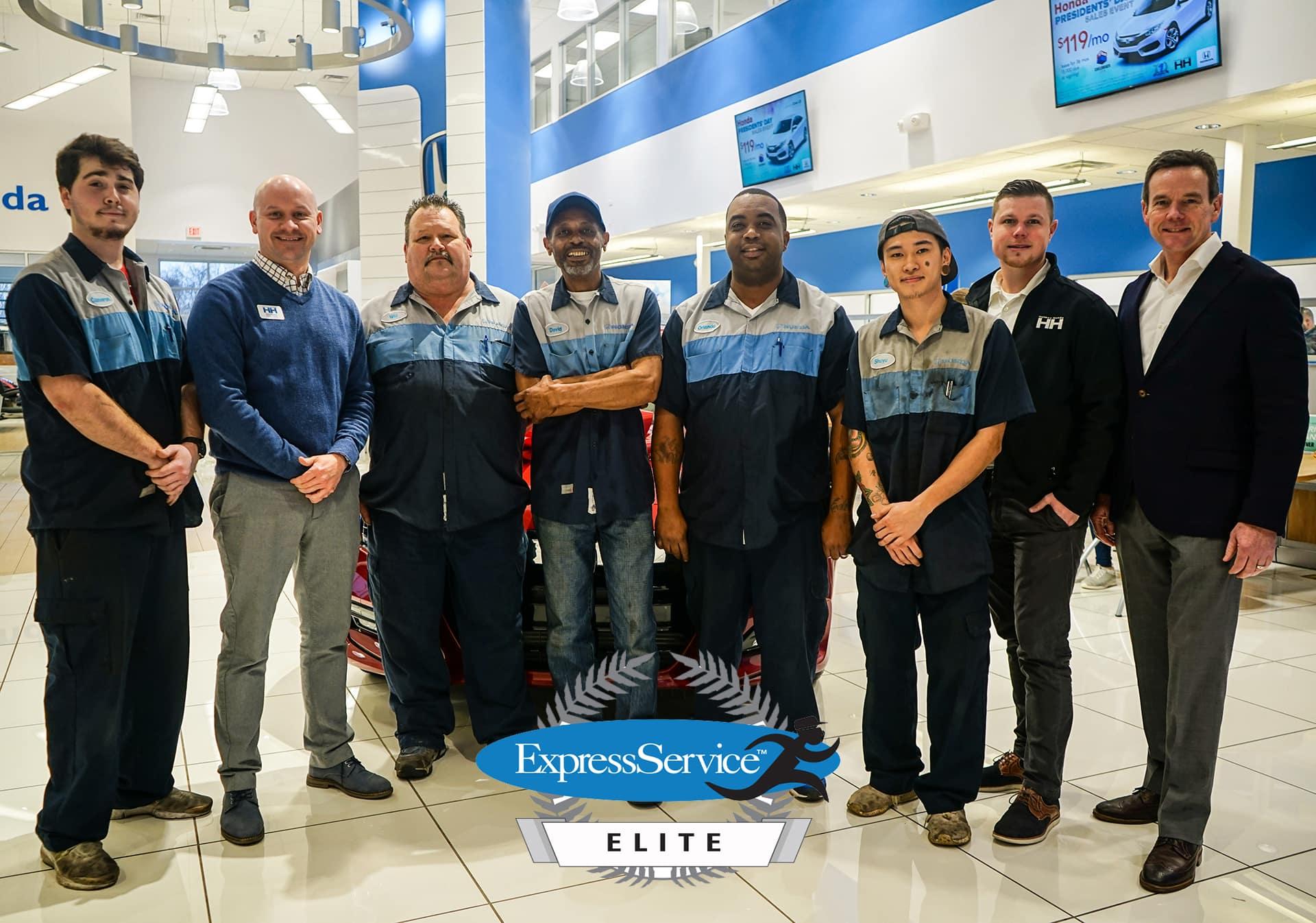 Express Service Elite Award, Holmes Honda, Honda Service
