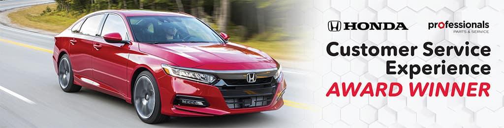Holmes Honda, Honda Service, Customer Service Experience Award, Shreveport