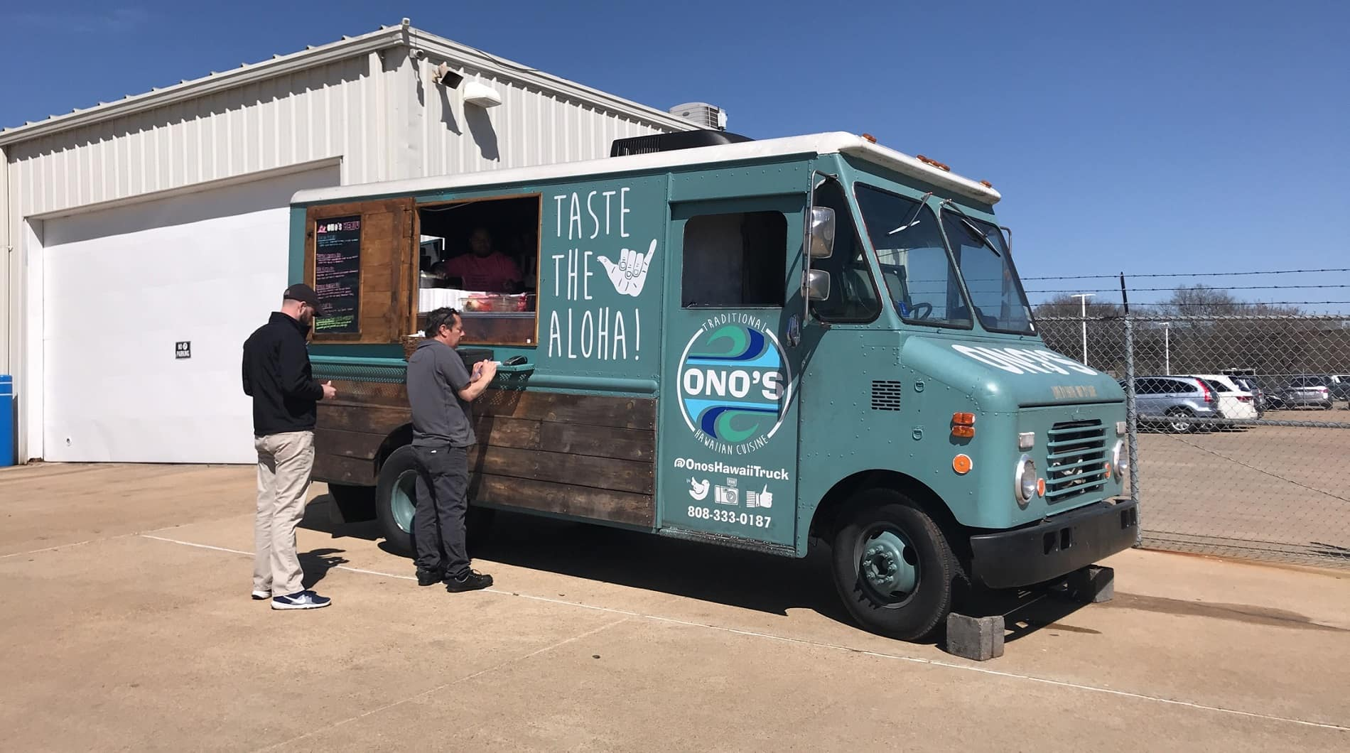 Ono's, Ono's hawaiin food truck, holmes honda, local, shreveport, support local