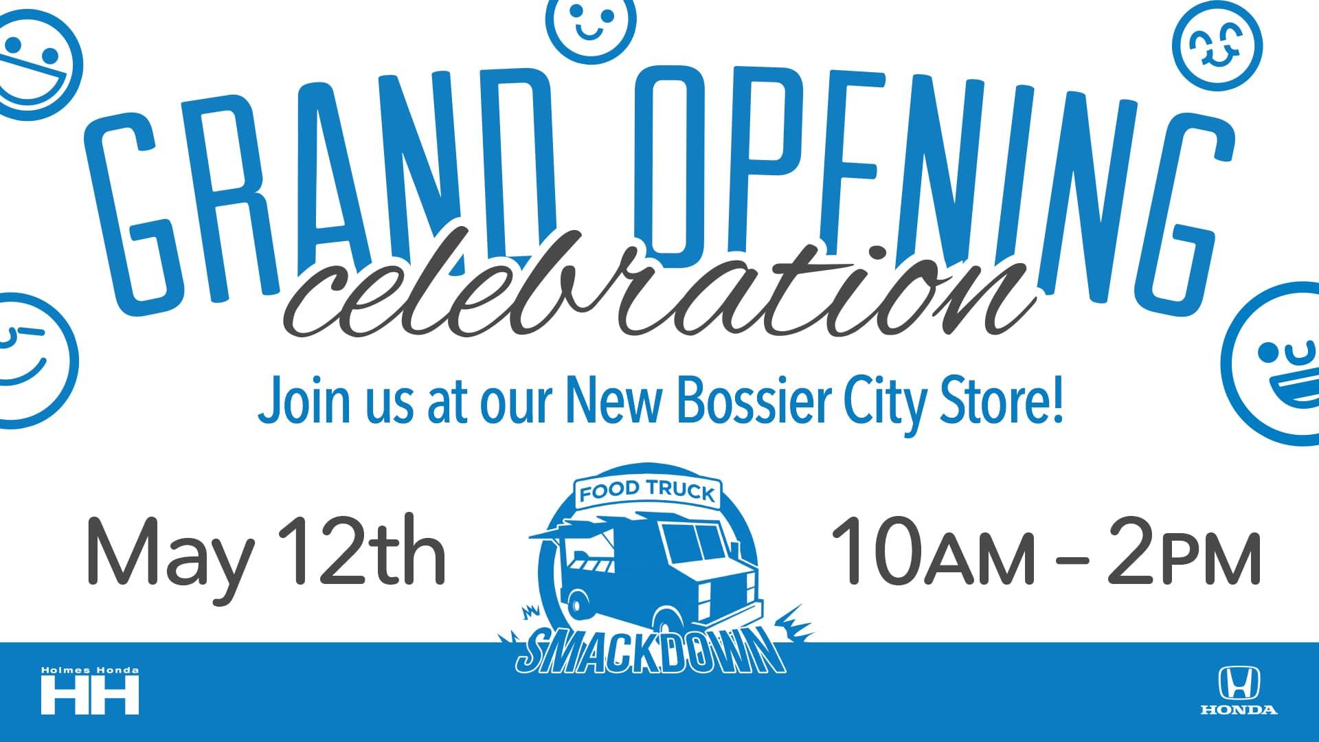 Holmes Honda Bossier City, Grand Opening, Food Truck Smackdown, Honda