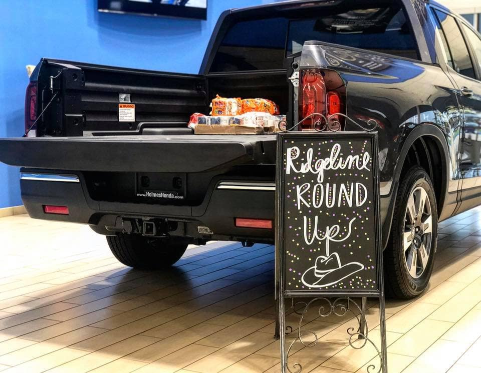 Community, Community Involvement, Ridgeline Roundup, Shreveport-Bossier Rescue Mission, Food Drive, Christmas