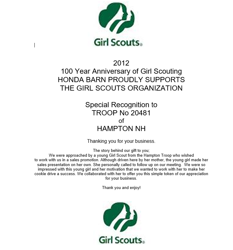 14 - 2012 Girl Scouts