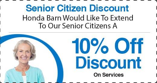 Honda Barn Senior Citizen