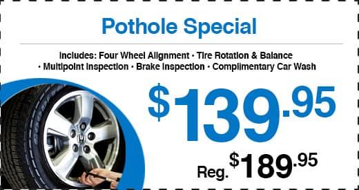 Honda Barn Pothole Special