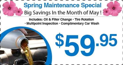 Honda Barn Spring Maintenance Special