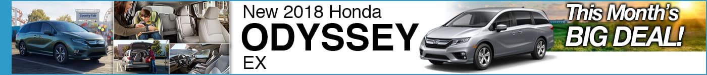 Brand New 2018 Odyssey EX