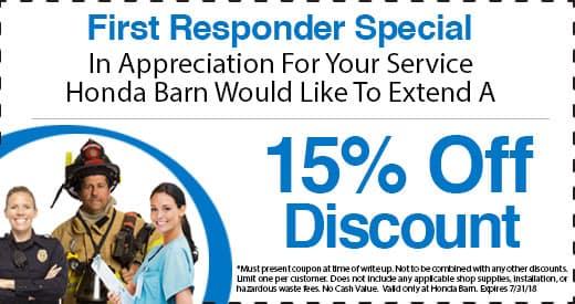 Honda Barn First Responder Special