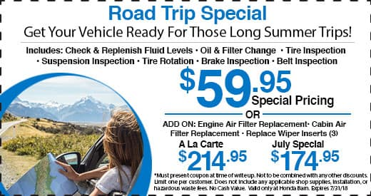 Honda Barn Road Trip Special