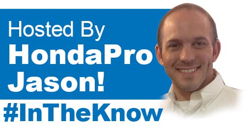 Hosted By Honda Pro Jason!