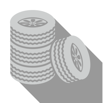 Tire Stack Icon