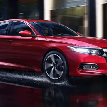 2019 Honda Accord Sedan on the road
