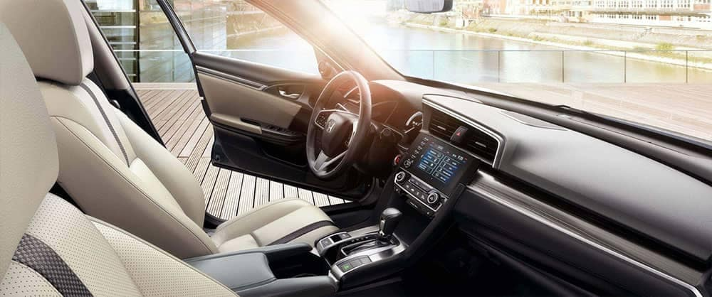 2019 Honda Civic Sedan front interior