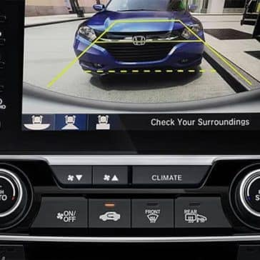 2019 Honda Civic Sedan rear view camera safety feature