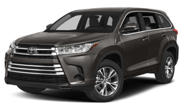 2019 Toyota Highlander Comparison Image