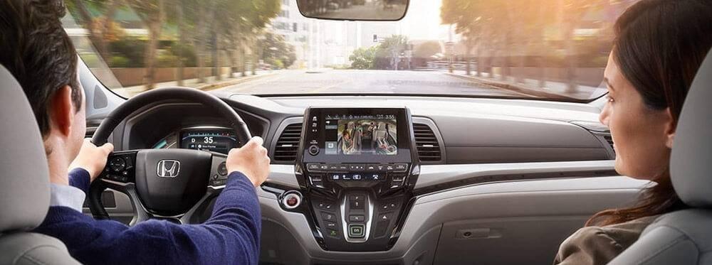 2018 Honda Odyssey Dash