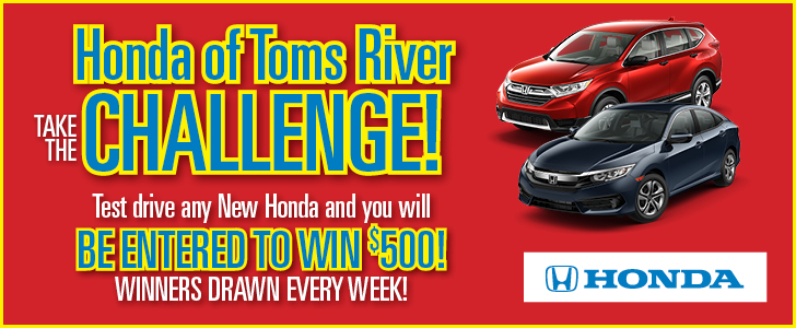 HOTR 086_Challenge Website Banner_728x300. Honda Of Toms River Challenge