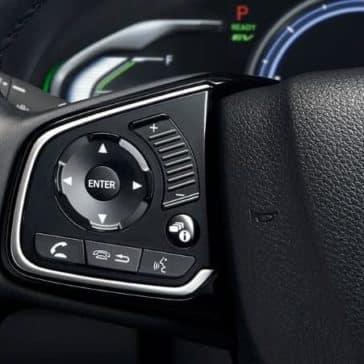 2018 clarity phev bluetooth steering wheel controls