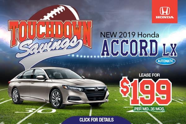 2019 Honda Accord LX Automatic Sedan