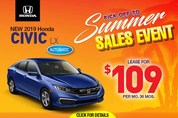 Honda Dealership Orange County >> New Honda Special Offers Honda Dealer Near Toms River Nj