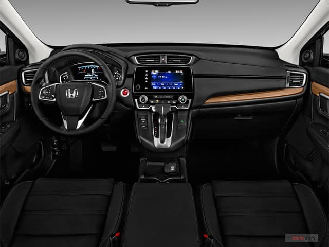 2019 honda cr v dashboard